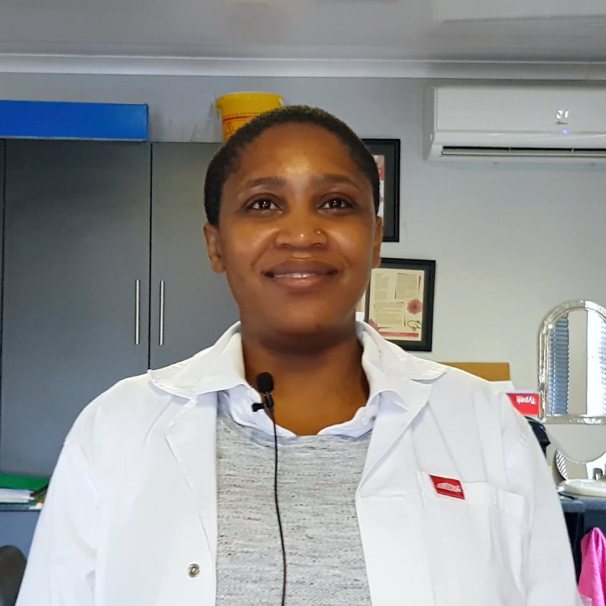 Ms Nonjabulo Dladla, Physiotherapist